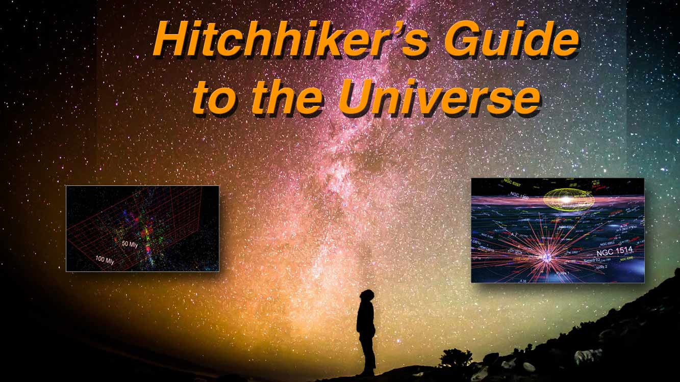 Hitchhikers Guide to the Universe 16 x 9