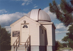Outside the Observatory