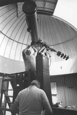 Repairing the Telescope