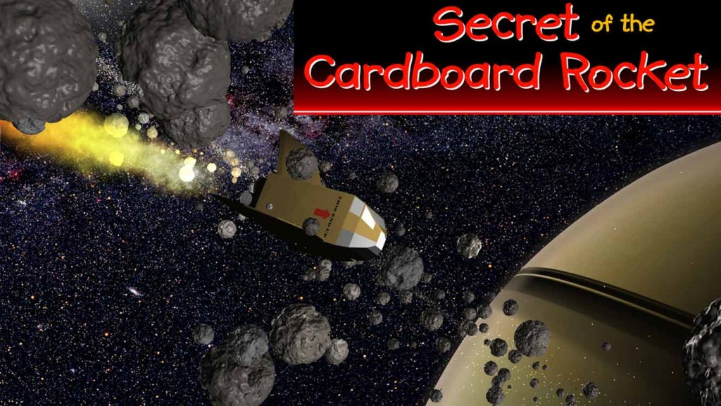 Secret of the Cardboard Rocket 16 x 9