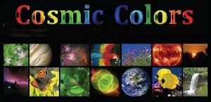 Cosmic Colors 16:9 poster