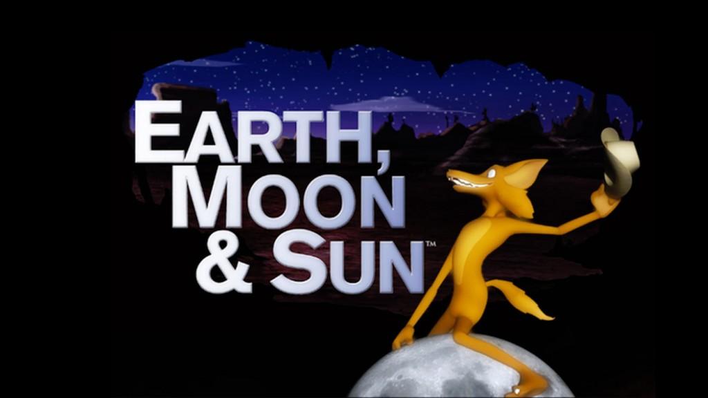 Earth Moon Sun 16 x 9