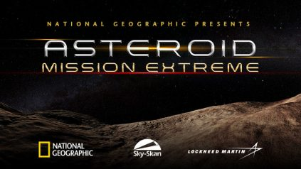 Asteroid 16x9 poster